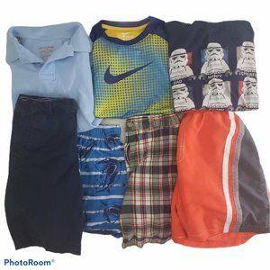 Boys 7 pc bundle Sz 6 Summer inc Nike, Star Wars